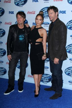 Jennifer Lopez, Keith Urban, Harry Connick Jr