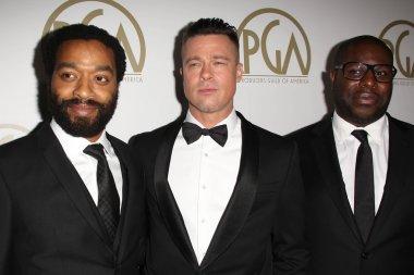 Brad Pitt, Chiwetel Ejiofor, Steve McQueen