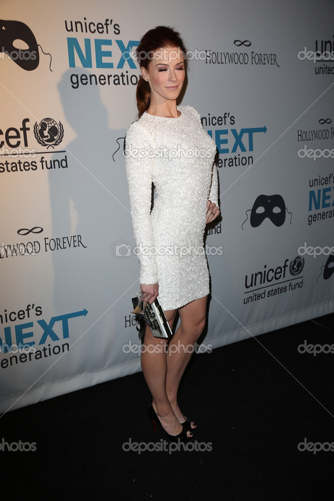 Bridget Regan At The 1st Annual Los Angeles Unicef Masquerade Ball Hollywood Forever Cemetary Hollywood Ca  Photo By S_bukley