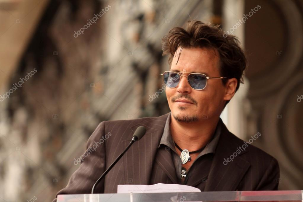 Johnny Depp at the Jerry Bruckheimer Star on the Hollywood Walk of Fame ceremony, Hollywood, CA 06-24-13 stock vector