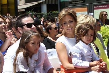 Casper Smart, Emme Anthony, Jennifer Lopez and Max Anthony