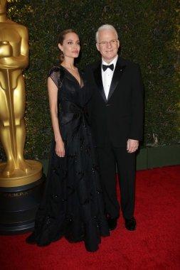Angelina Jolie and Steve Martin
