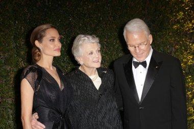 Angela Lansbury, Angelina Jolie, Steve Martin