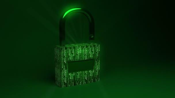 data bezpečný koncept