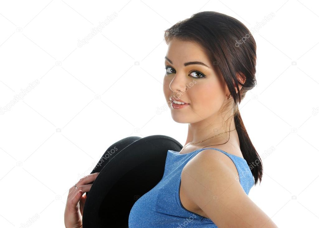 фото девушек в полуоборота
