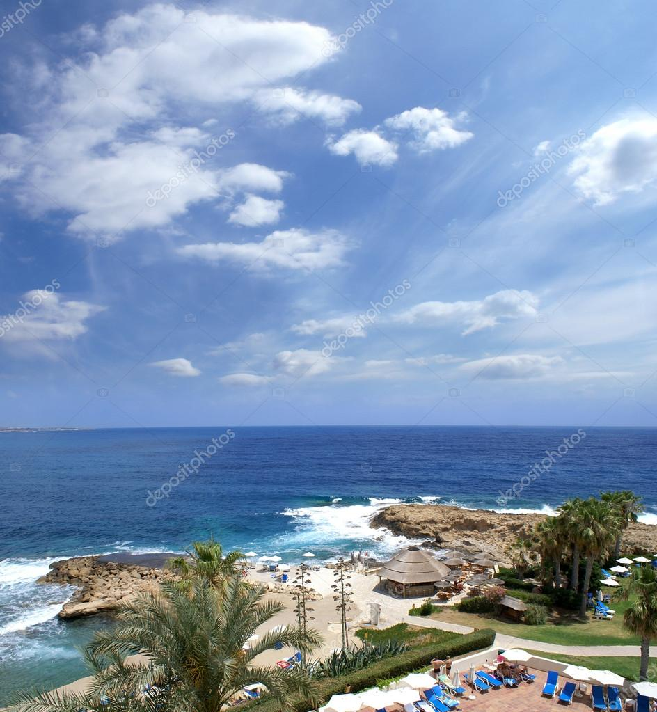 Beautiful view of Cyprus