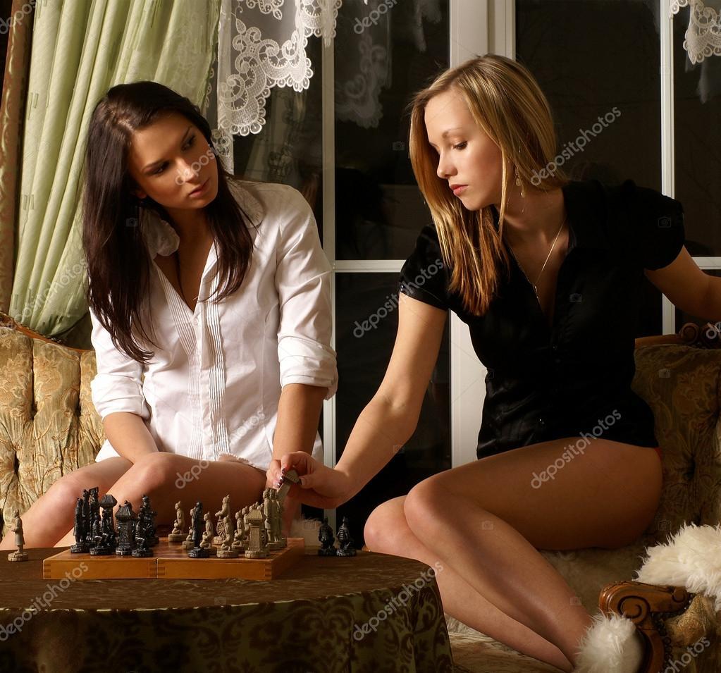 Schach sexy Mädchen #2