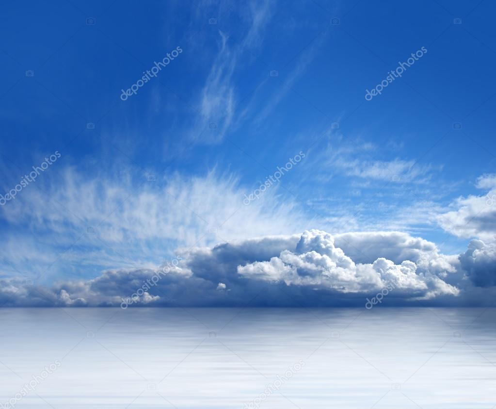 Beautiful view of sky and sea