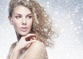 krása portrét mladé atraktivní ženy