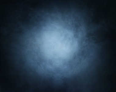 Dark blue smoke background image