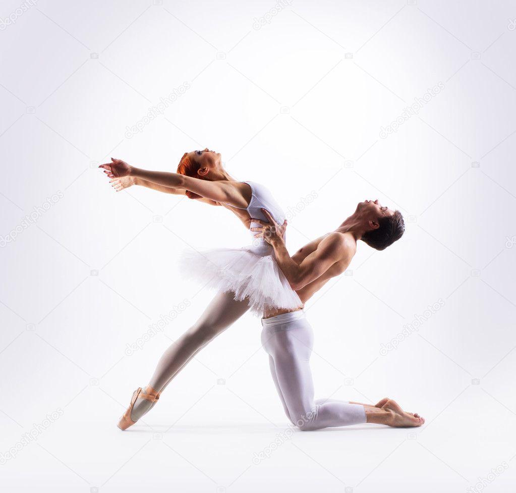 Pareja bailarines consolador
