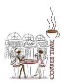 Zeit für Kaffee, der Hintergrund