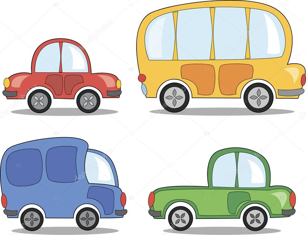 Cartone animato cars — vettoriali stock sketchmaster