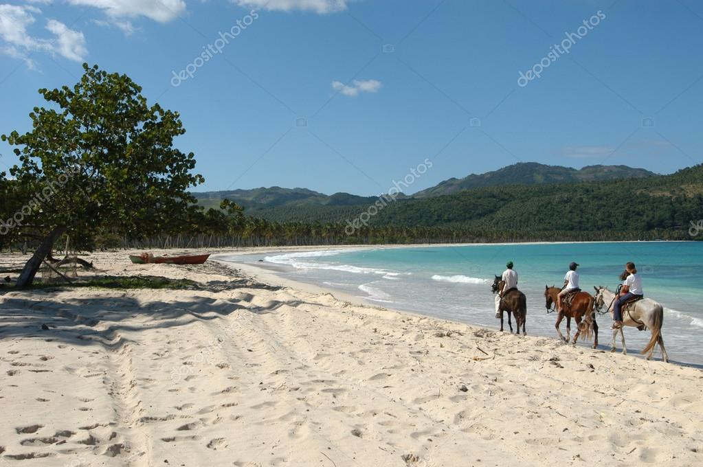 Horse ride on the beach of Playa Rincon