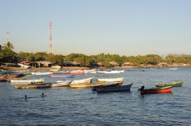 The beach of Los Cobanos