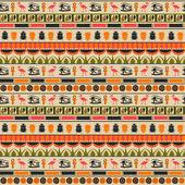 vektorové bezešvé pozadí egyptské ornament