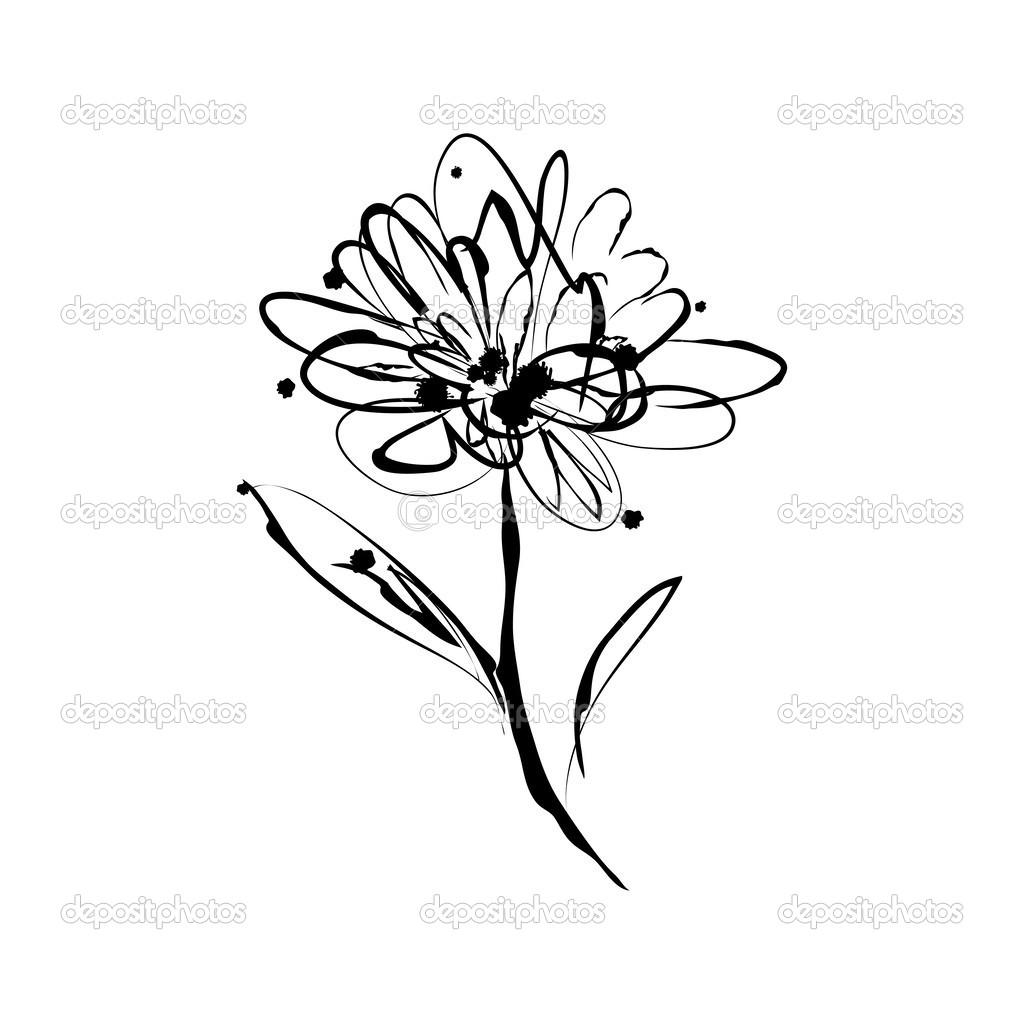 gerbera tattoo