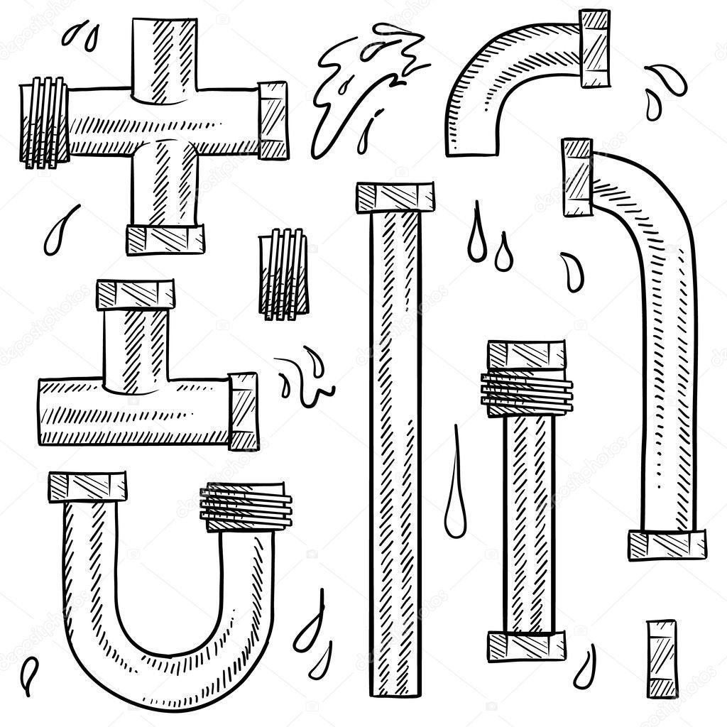 how to clean metal plumbing pipe