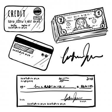 Personal finance objects sketch