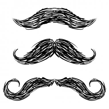 Moustaches sketch
