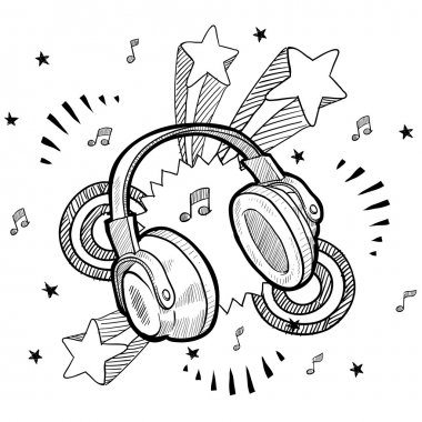 Excited about music sketch