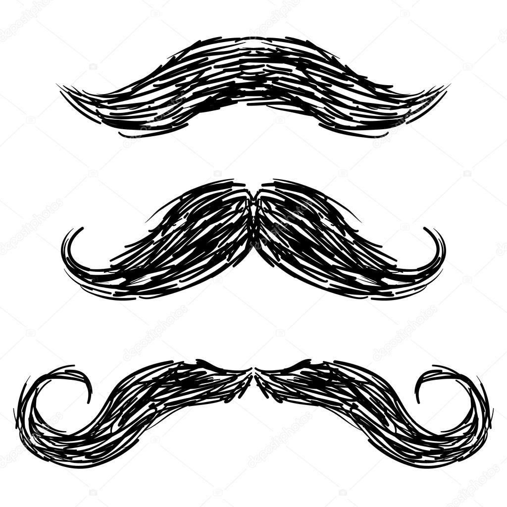 Moustaches sketch
