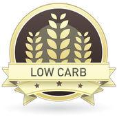 Photo Low carb food label