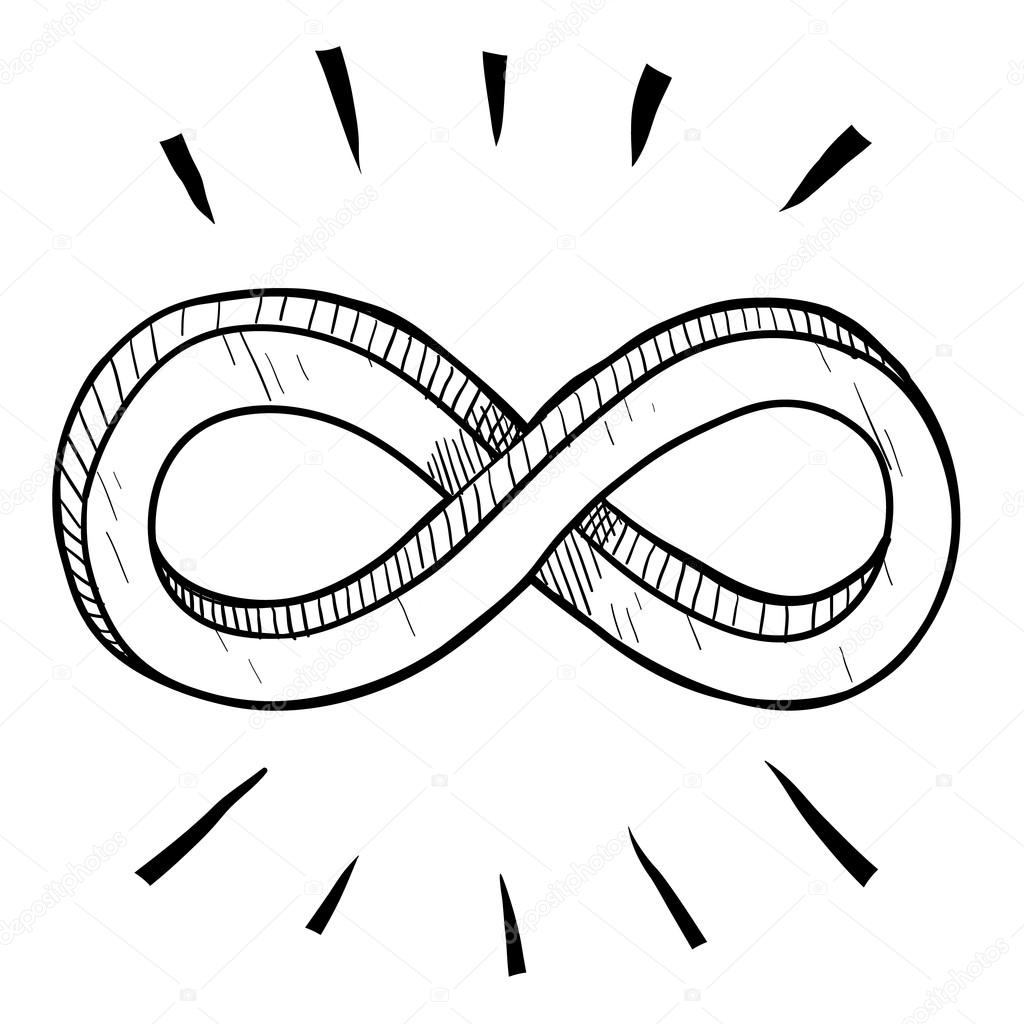 Infinity Symbol Sketch Stock Vector Lhfgraphics 13981754