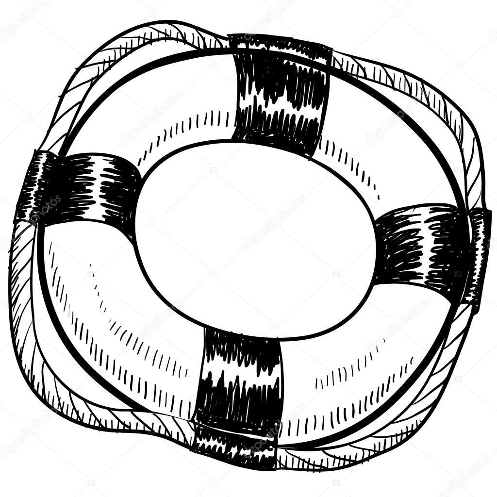 Pool Ring Drawing