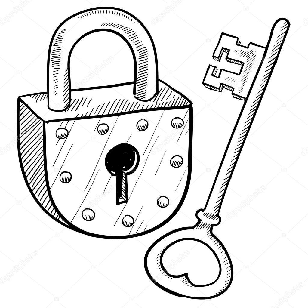 Vector Key Illustration: Stock Vector © Lhfgraphics