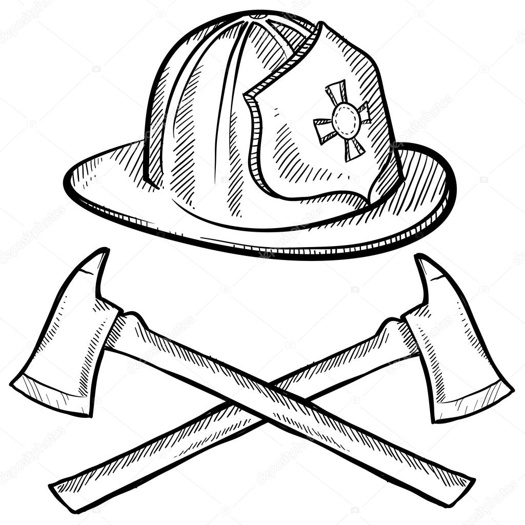 firefighter gear coloring pages - photo#38