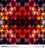 Fotografie Abstract colorful triangles background. Vector.