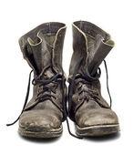 Staré vojenské boty