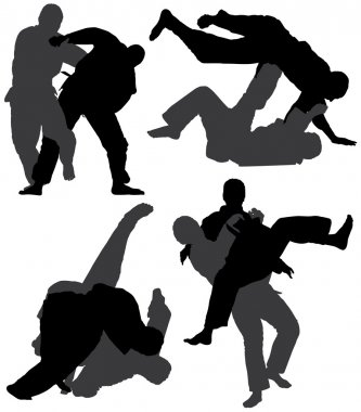 Judo Silhouette