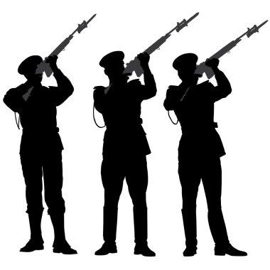 Honor Guard Silhouette