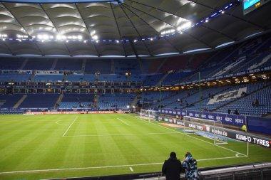The HSV Arena during the Game Hamburg vs. Frankfurt