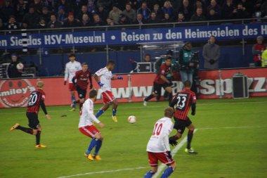 The player Dennis Aogo of the Hamburg Sport Club HSV