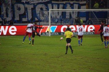 The Football Game Hamburg vs. Frankfurt