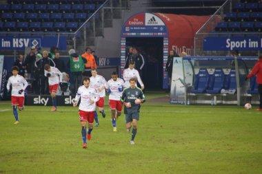The player of the Hamburg Sport Club HSV