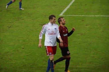The player Marcell Jansen of the Hamburg Sport Club HSV