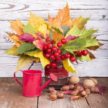 Bouquet of autumn flowers