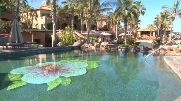 Pool in the resort.