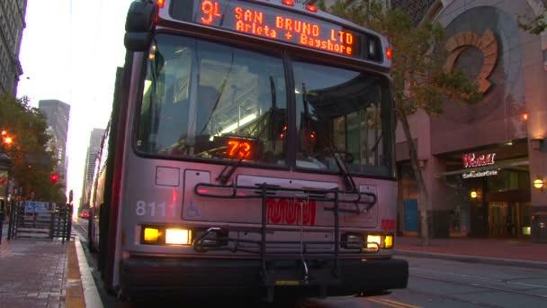 městské autobusy v san Franciscu