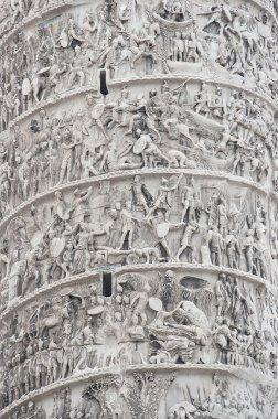 Trajan Column in Rome, Italy.