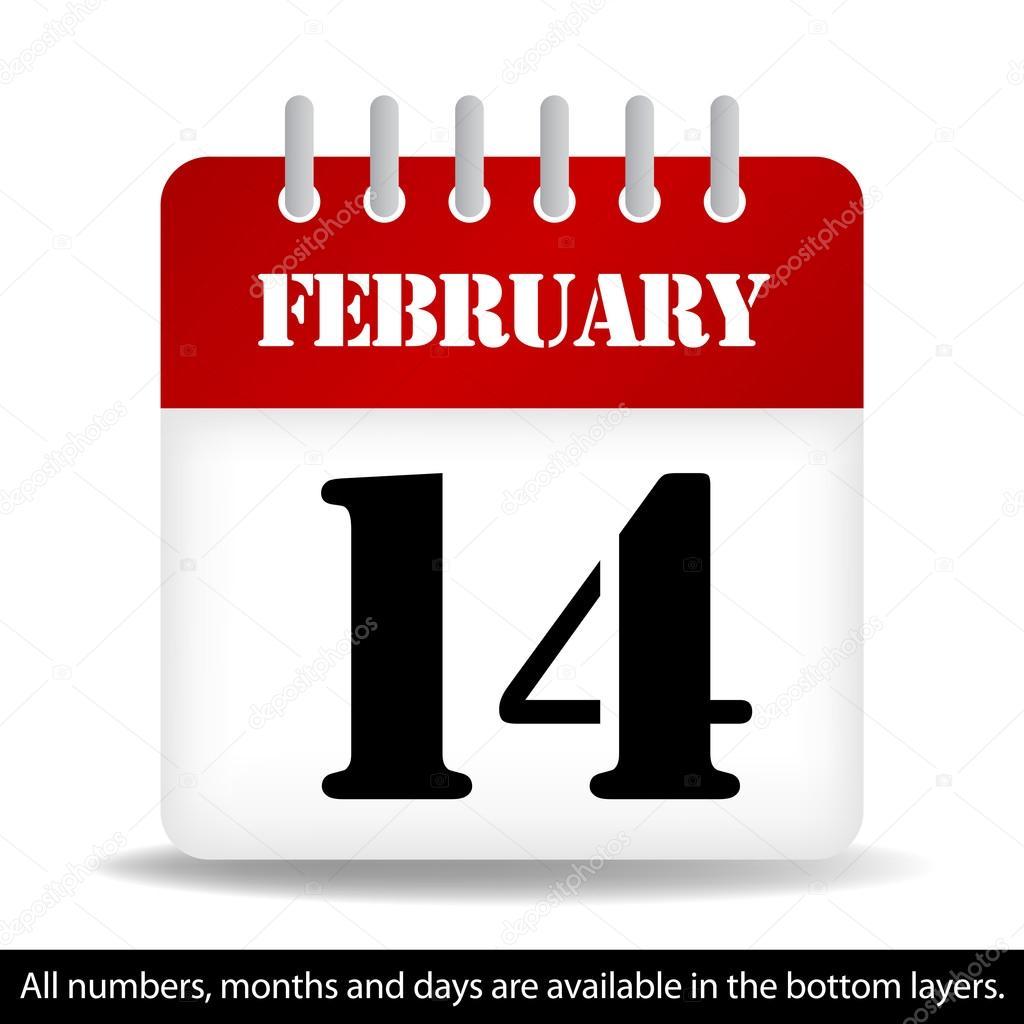 67624eb53 Calendario días y meses todos - incluido en las capas de fondo– Ilustración  de Stock
