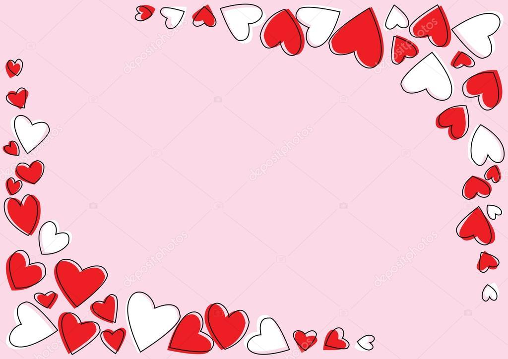 Rahmen der Liebe — Stockvektor © gubgibgift #33863679