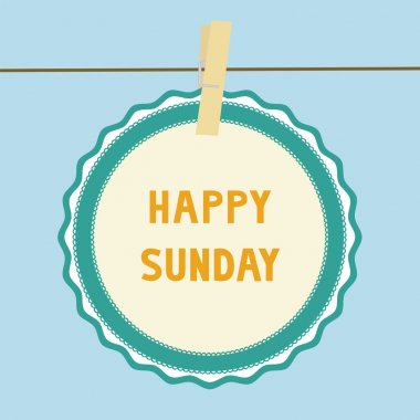 Happy Sunday note1