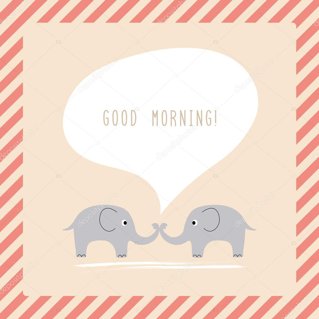 Good Morning2 Stock Vector Gubgibgift 50540703