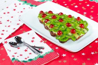 fruitcake for happy christmas