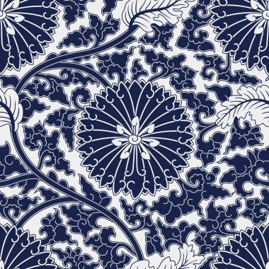 Seamless chinese pattern stock vector